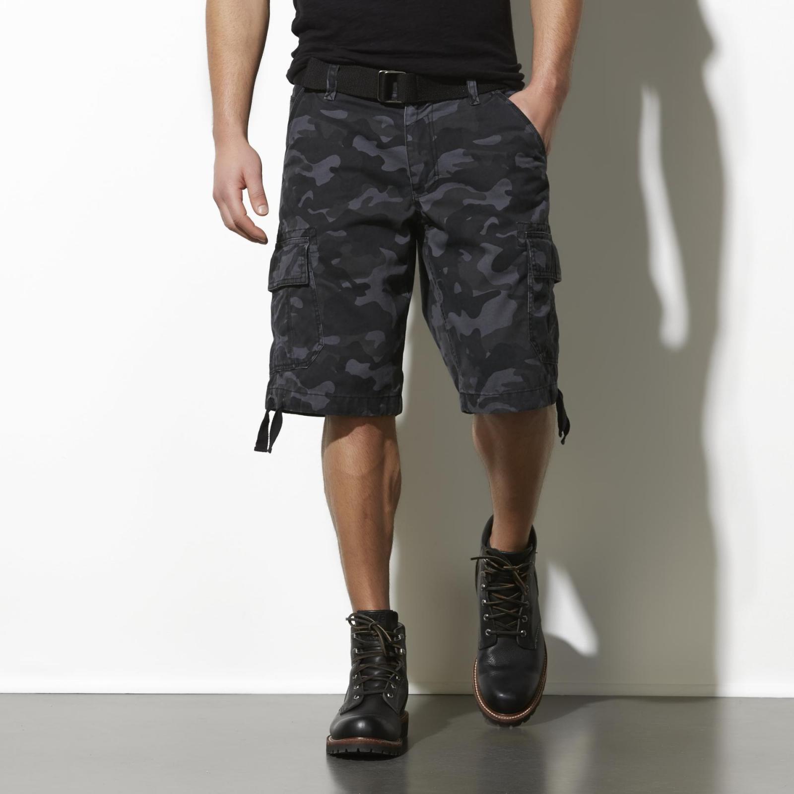 Винтажные шорты милитари по выгодной цене