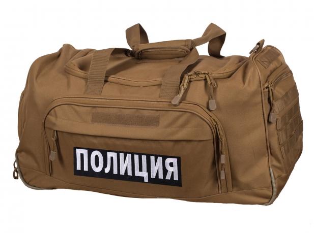 Вместительная походная сумка 08032B Coyote Полиция