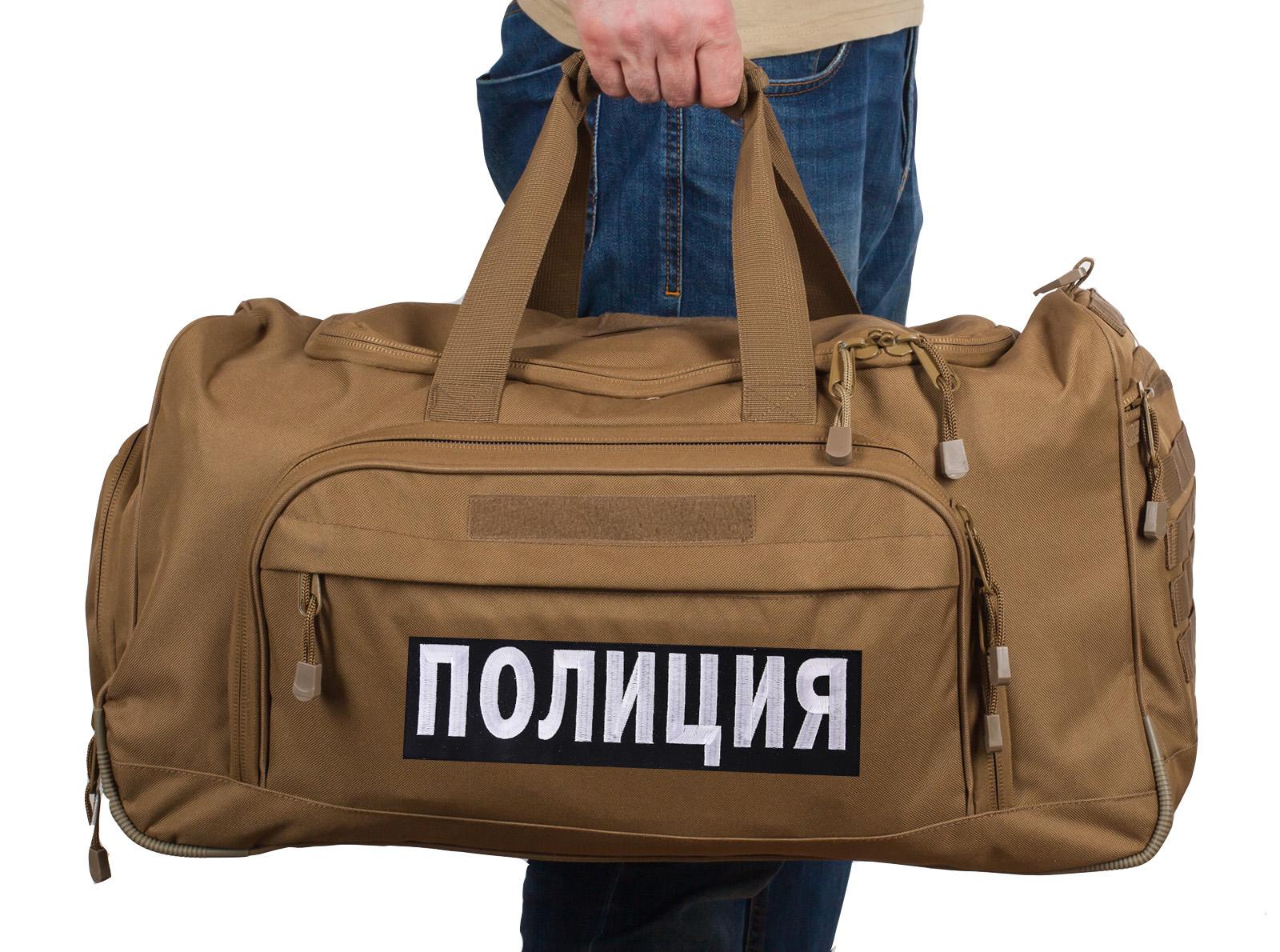 Купить вместительную походную сумку 08032B Coyote Полиция с доставкой по лучшей цене
