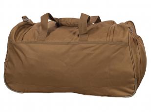 Вместительная походная сумка 08032B Coyote с нашивкой Росгвардия