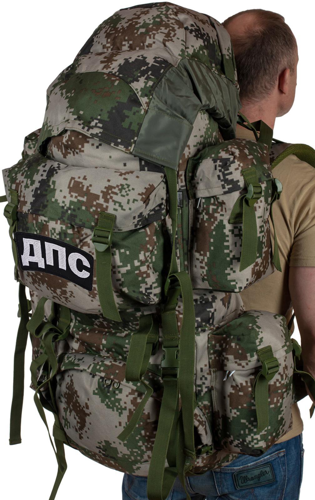 Вместительный армейский рюкзак с нашивкой ДПС - купить онлайн