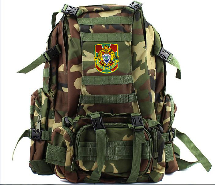 Вместительный армейский рюкзак с нашивкой ПС - купить онлайн