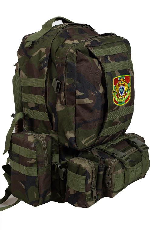 Вместительный армейский рюкзак с нашивкой ПС - купить с доставкой