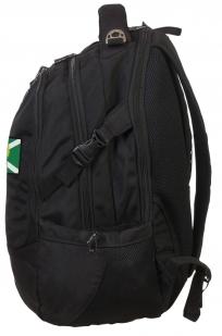 Вместительный черный рюкзак с нашивкой Таможня - купить выгодно