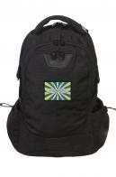 Вместительный черный рюкзак с нашивкой ВВС