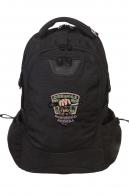Вместительный городской рюкзак с нашивкой  охотников