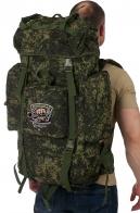 Вместительный камуфляжный рюкзак с нашивкой Рыболовный Спецназ
