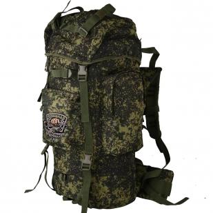 Вместительный камуфляжный рюкзак с нашивкой Рыболовный Спецназ - заказать выгодно