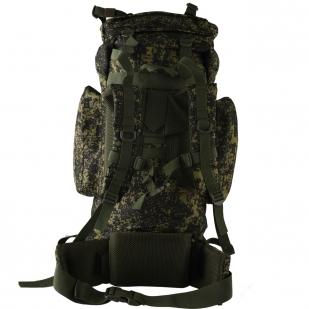 Вместительный камуфляжный рюкзак с нашивкой Рыболовный Спецназ - заказать в подарок
