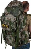 Вместительный контрактный рюкзак с нашивкой ФСО - купить выгодно