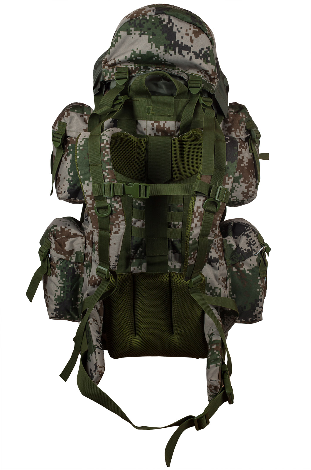 Вместительный контрактный рюкзак с нашивкой ФСО - заказать с доставкой