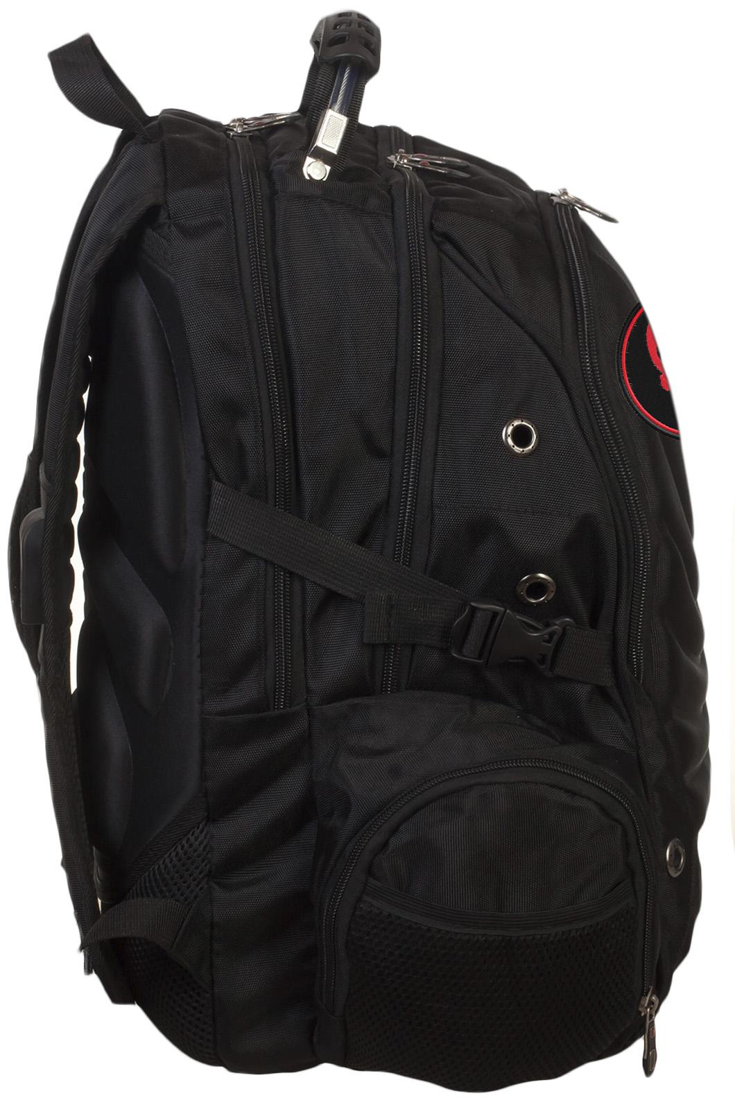 Вместительный крутой рюкзак с нашивкой Каратель - купить онлайн