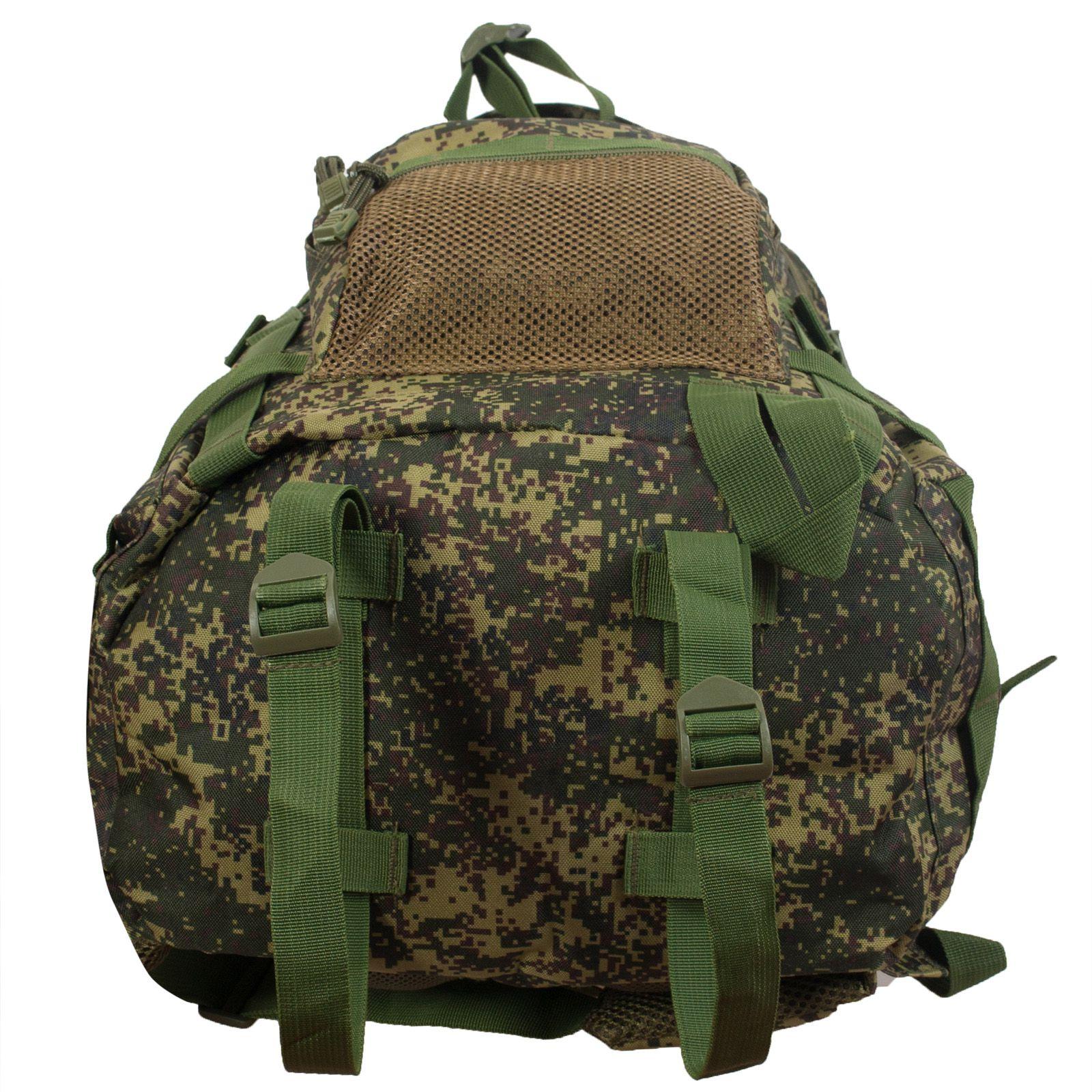 Вместительный милитари рюкзак с нашивкой Афган - заказать с доставкой