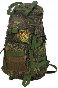 Вместительный милитари рюкзак с нашивкой Погранслужбы - купить в подарок
