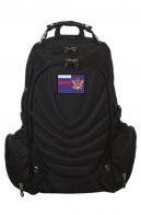 Вместительный мужской рюкзак с нашивкой ФСИН