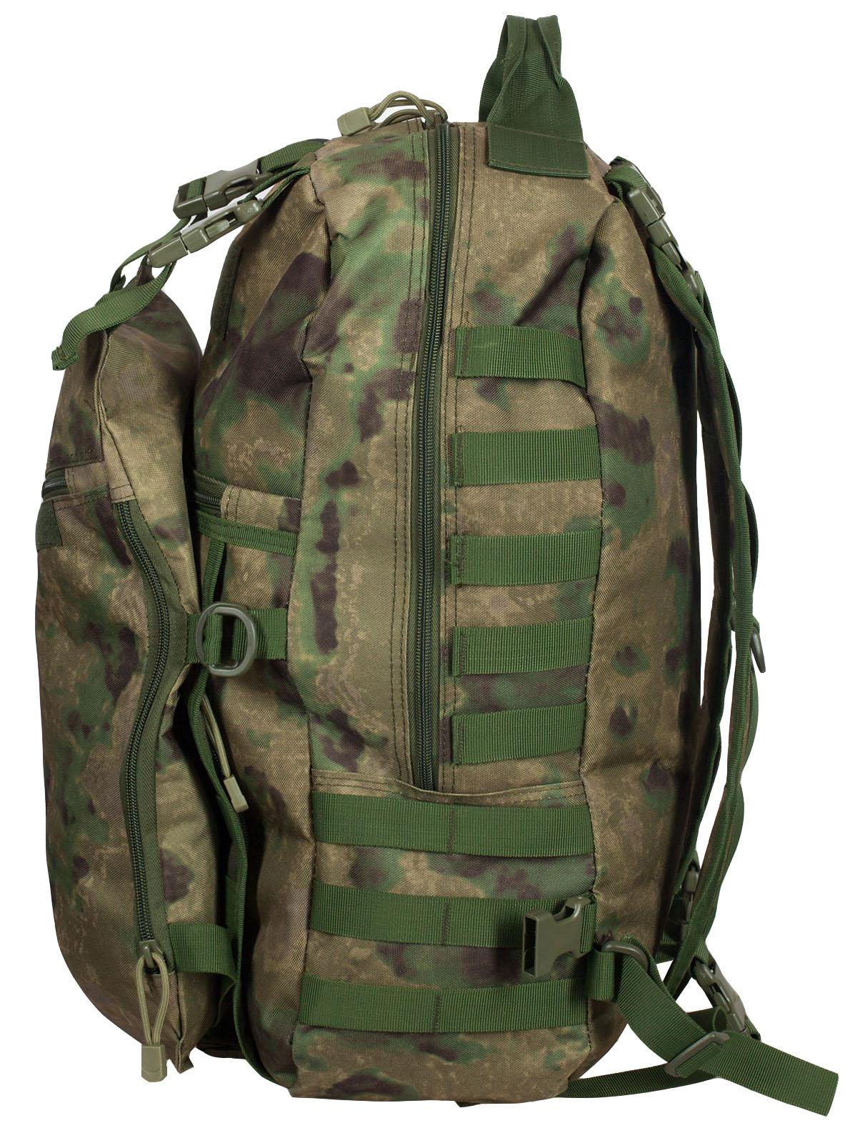 Вместительный мужской рюкзак с нашивкой Русская Охота - купить с доставкой