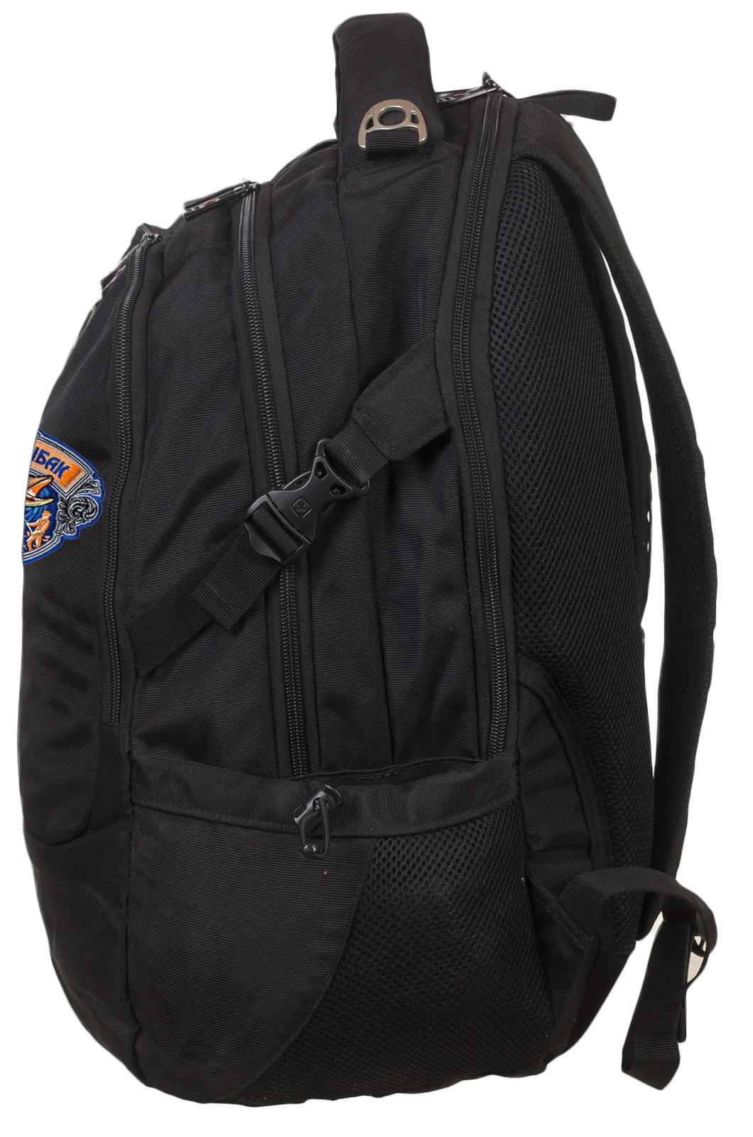 Вместительный надежный рюкзак с нашивкой Лучший Рыбак - купить в розницу