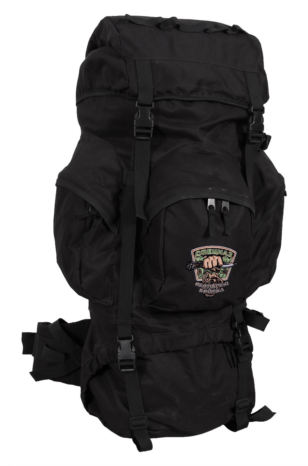Вместительный надежный рюкзак с нашивкой Охотничий Спецназ - заказать выгодно