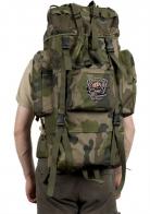Вместительный походный рюкзак с шевроном Рыболовного спецназа