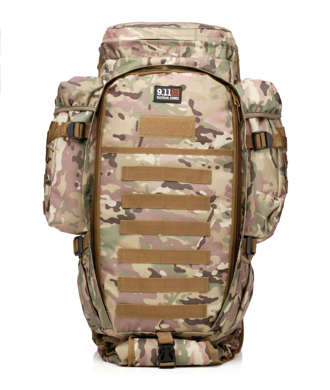 Вместительный рюкзак 9.11 с отделением под карабин по лучшей цене