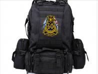 Вместительный рюкзак с нашивкой Балтфлот.