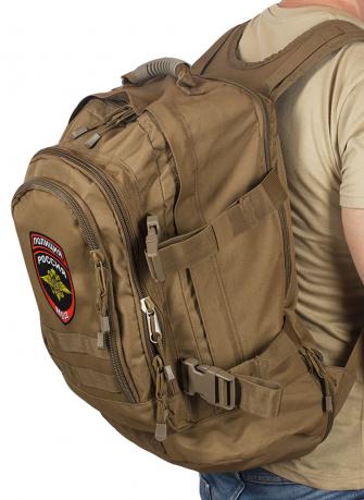 Вместительный тактический рюкзак с нашивкой Полиция России
