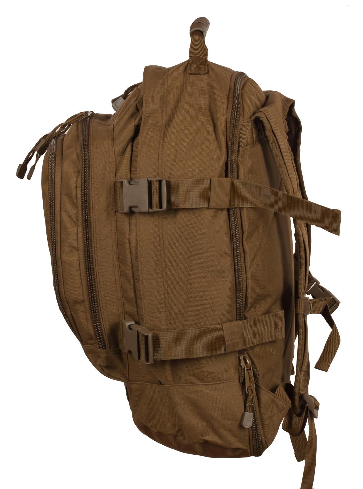 Вместительный трехдневный рюкзак с нашивкой МВД - заказать онлайн