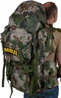 Вместительный военный рюкзак с нашивкой МВД