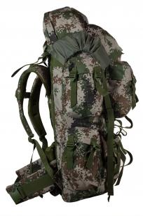 Вместительный военный рюкзак с нашивкой МВД - купить в розницу