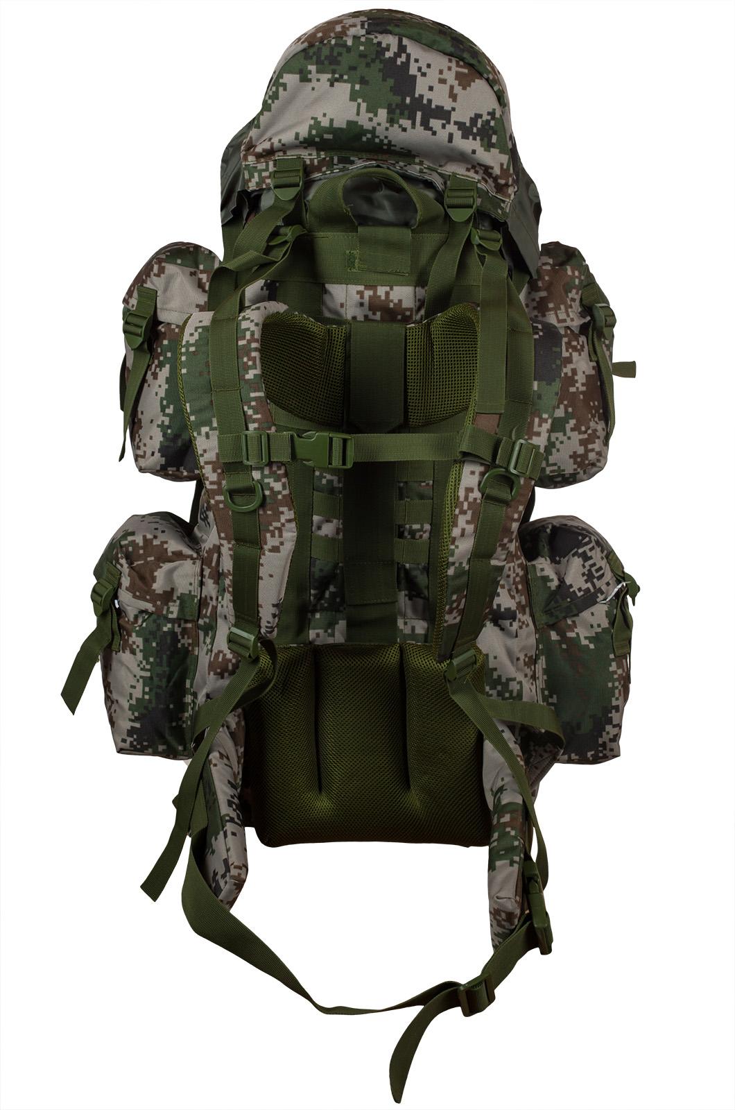 Вместительный военный рюкзак с нашивкой МВД - заказать в подарок