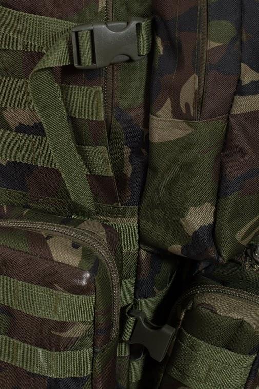 Вместительный охотничий рюкзак с нашивкой НИ ПУХА, НИ ПЕРА! - купить в розницу