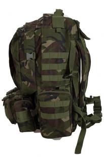 Вместительный охотничий рюкзак с нашивкой НИ ПУХА, НИ ПЕРА! - купить в подарок