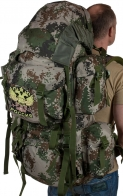 Вместительный зачетный рюкзак с нашивкой Герб России