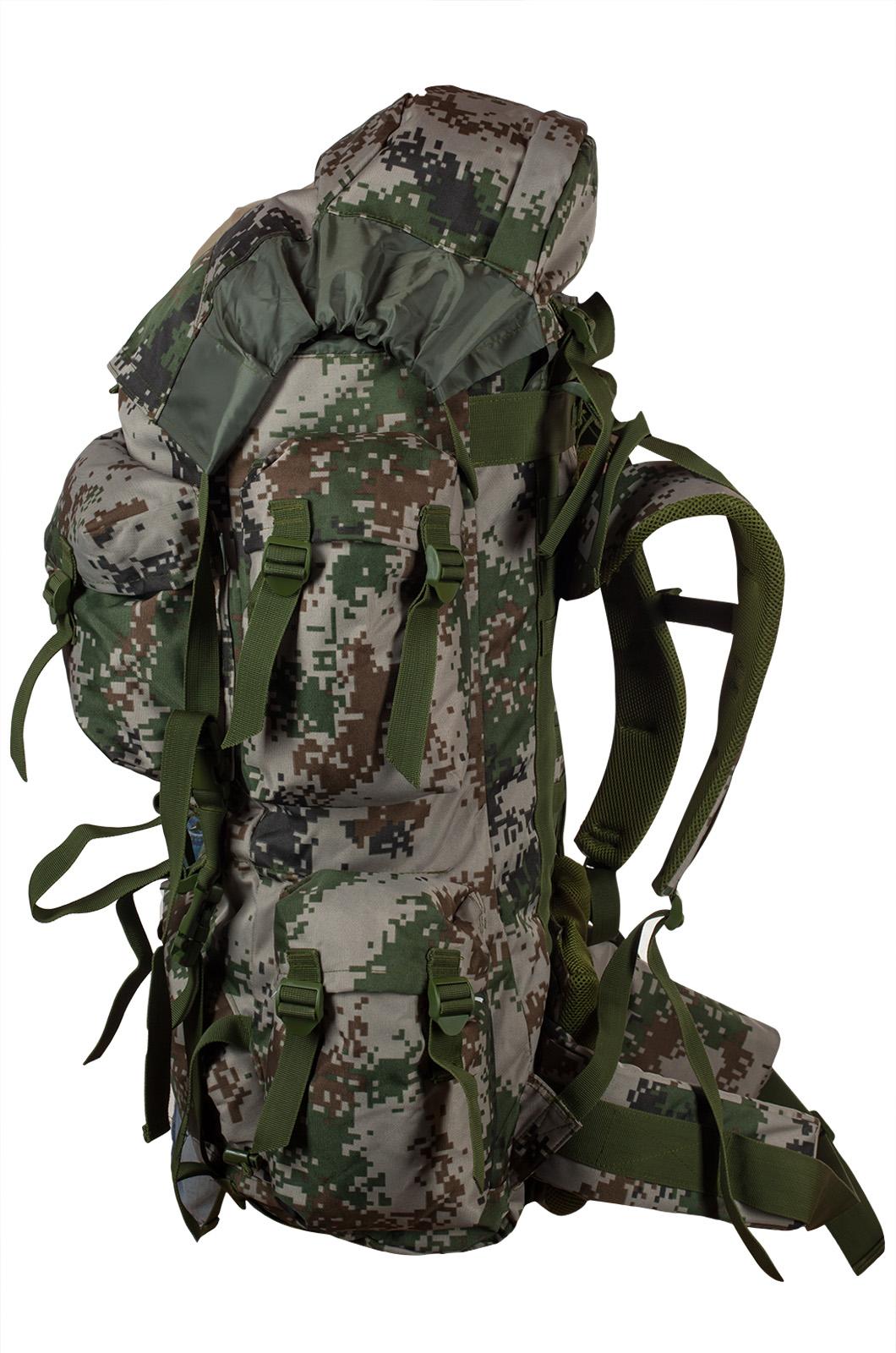 Вместительный зачетный рюкзак с нашивкой Герб России - купить выгодно