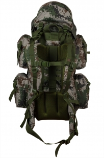 Вместительный зачетный рюкзак с нашивкой Герб России - купить по низкой цене