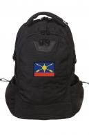 Внушительный черный рюкзак с нашивкой РВСН