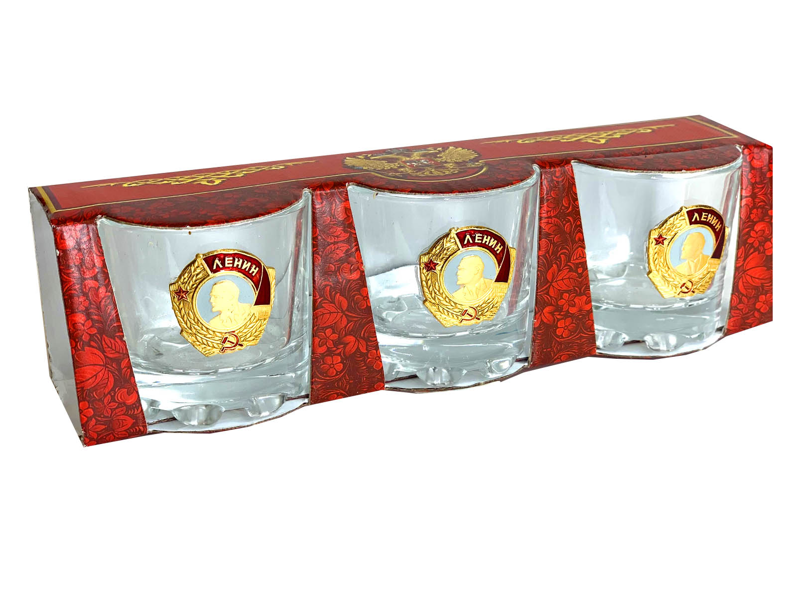 Водочные стопки Орден Ленина