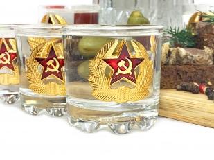 Водочный набор Красная Звезда