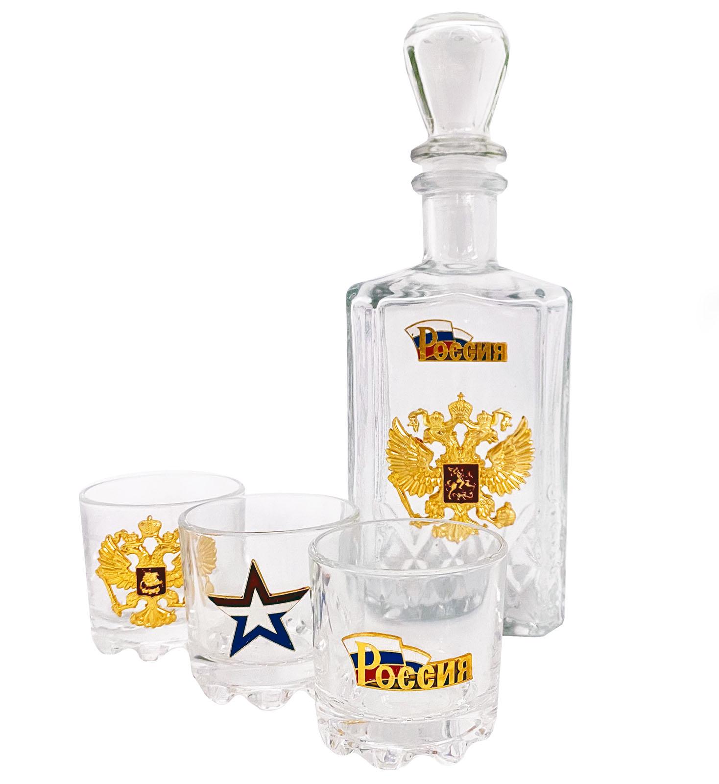 Подарочный набор с Двуглавым орлом и гербом РФ