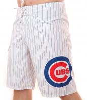 Водонепроницаемые бордшорты с логотипом бейсбольного клуба Chicago Cubs