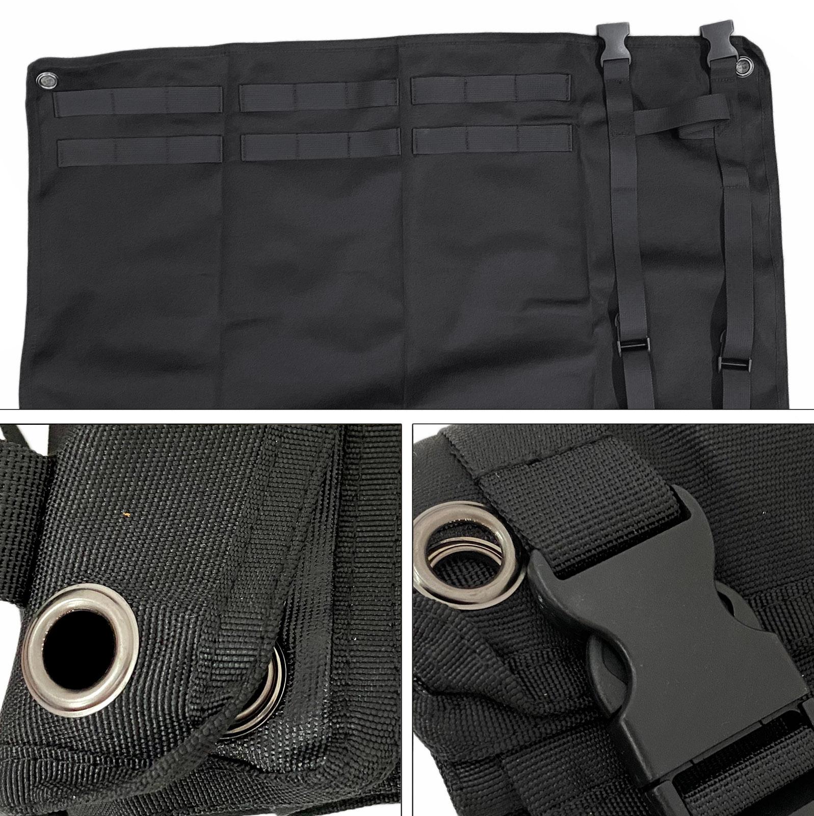 Водонепроницаемый коврик для активного отдыха и стрельб (Черный)