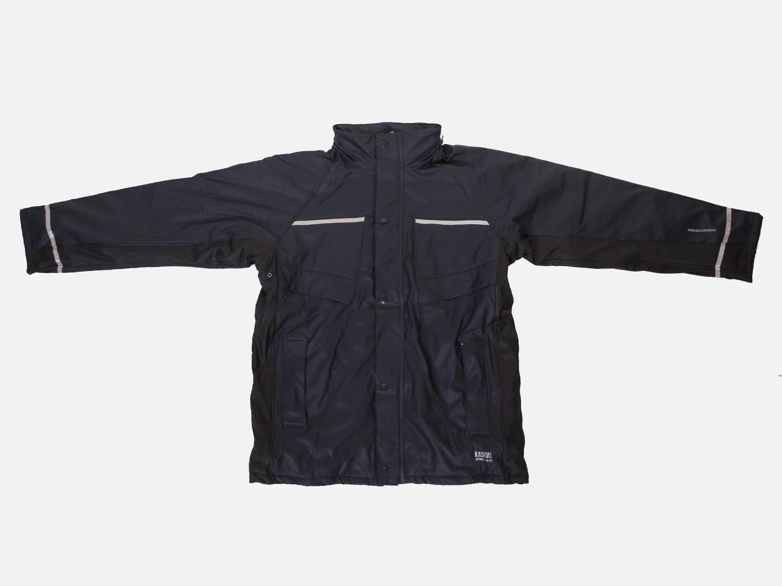 Водооталкивающая мужская куртка на флисе JUBA KASUAL