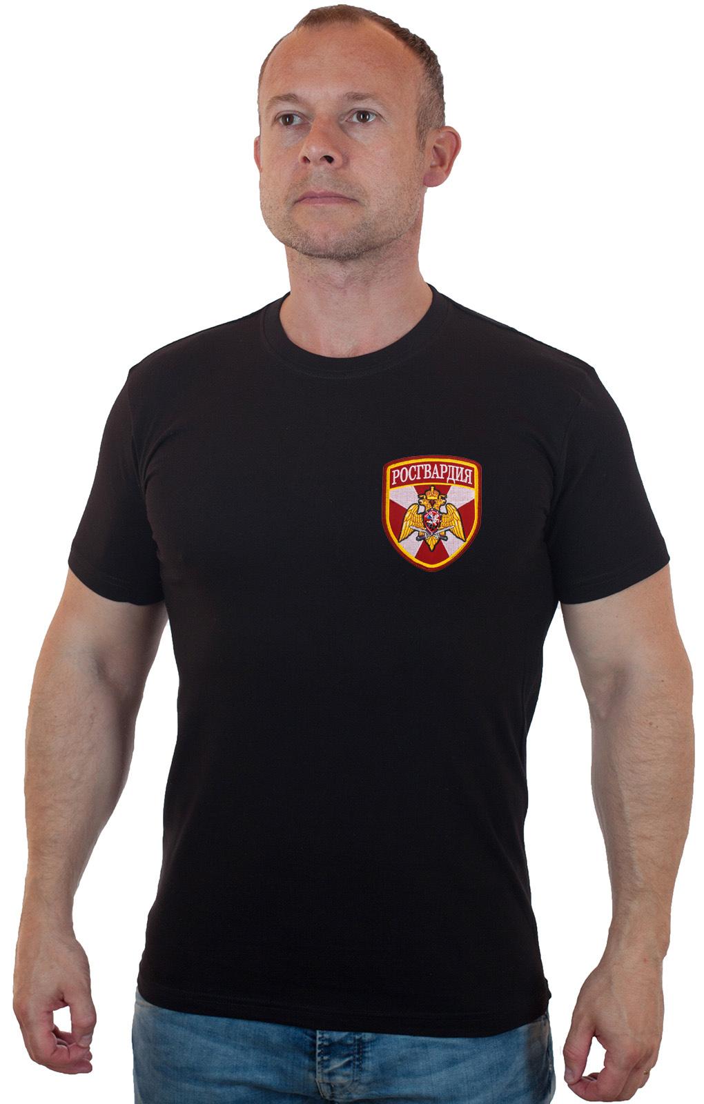 Купить мужскую футболку Росгвардия в интернет магазине Военпро