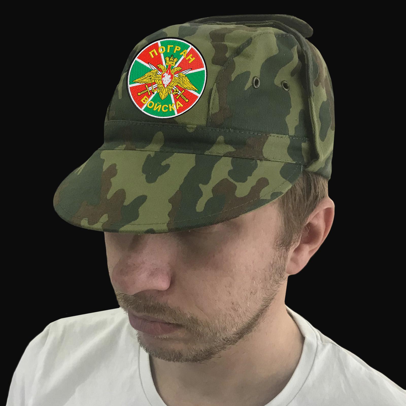 Военная кепка с шевроном Погранвойск