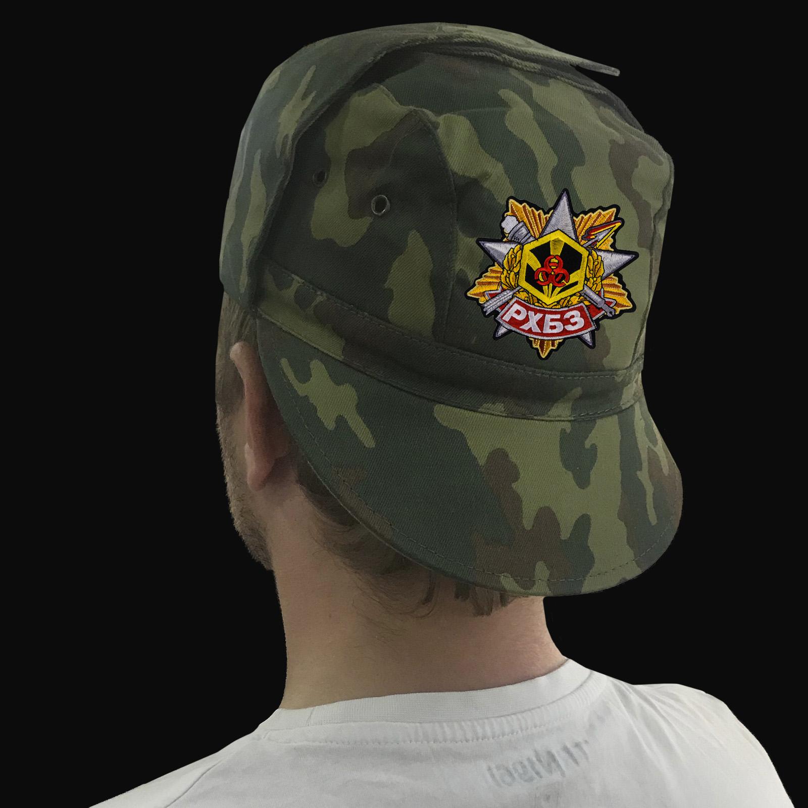 Купить в интернет магазине кепку с символикой Войск радиационной, химической и биологической защиты