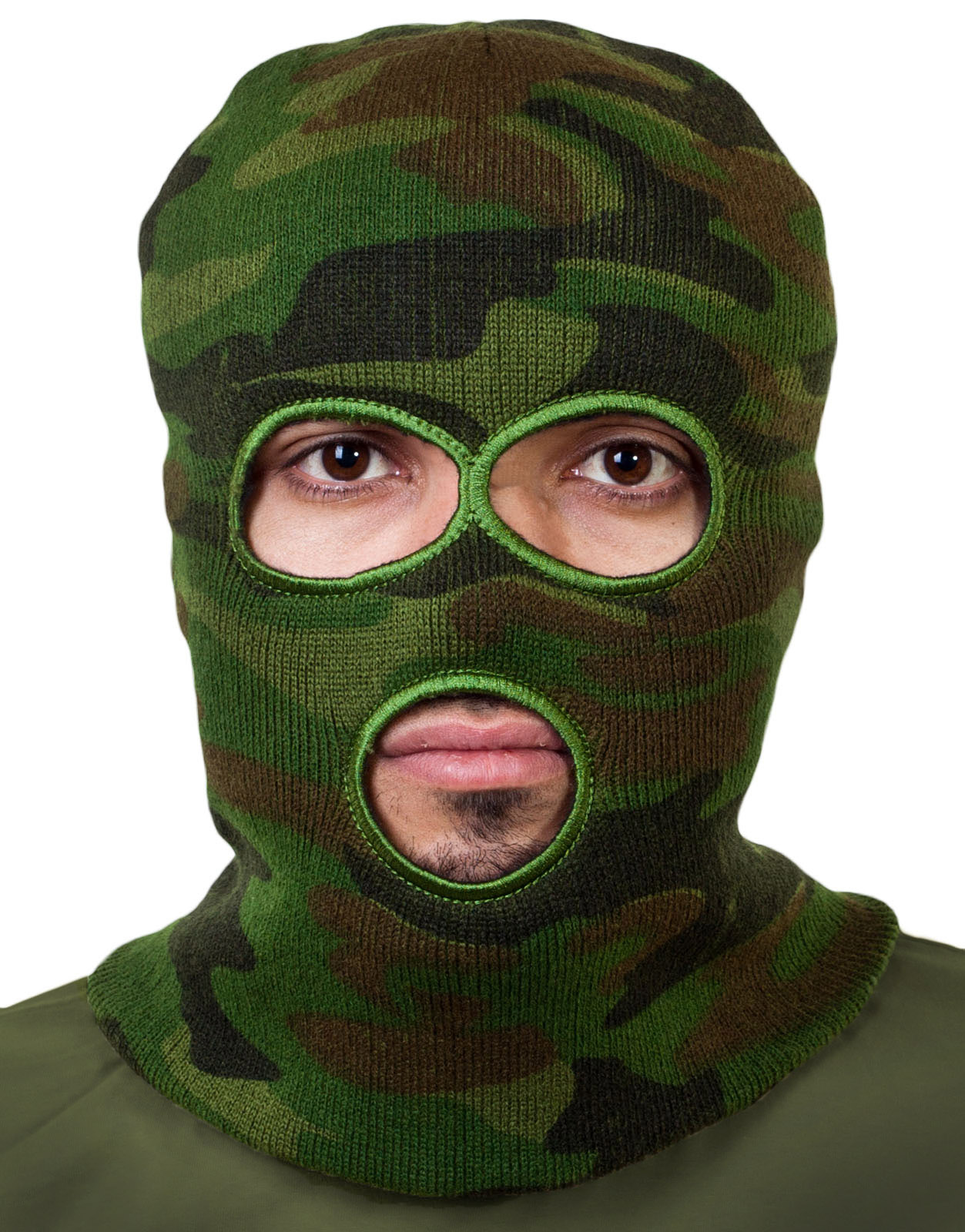 Военная балаклава камуфляжная