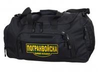 Военная большая сумка Погранвойска 08032B Black