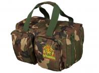 Военная дорожная сумка с нашивкой Погранвойска - заказать онлайн