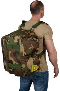 Военная дорожная сумка с нашивкой Погранвойска - заказать выгодно