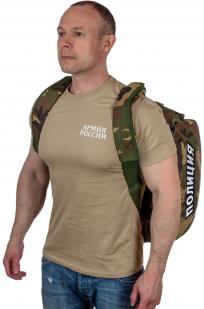 Военная дорожная сумка с нашивкой Полиция